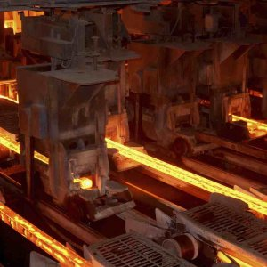 Iran is currently the world's 14th largest steelmaker.