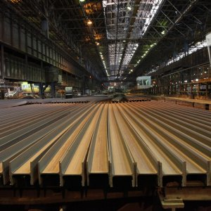 Esfahan Steel Company was Iran's third largest steel exporter during the 10 months to January 19.