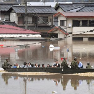 Dozens Killed, Several Missing as Torrential Rain Pounds Japan