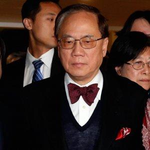 Former HK Leader  Sentenced to 20 Months