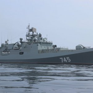 Russian, Turkish Navies Hold Joint Drills