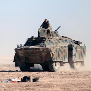Syrian Fighters to Push Against IS in Raqqa