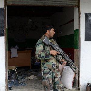 Afghan Forces Kill Taliban Commanders, IS Terrorists