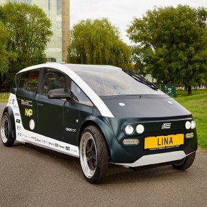 World's First Car Made From  Bio Composite