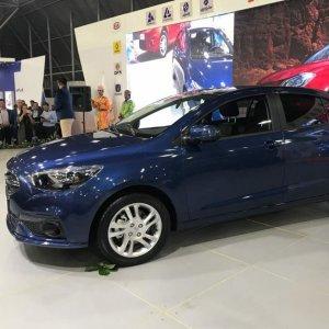 SAIPA recently unveiled a new upmarket model named Roham.