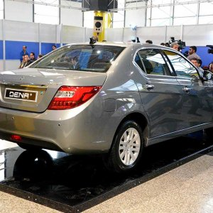 The IKCO Dena is likely to be a popular family car in the neighboring South Caucasus state.