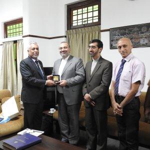 Lanka Minister, Envoy Sign 2 MOUs