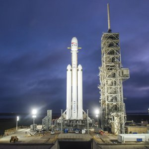 Falcon Heavy will fly Tesla Roadster toward Mars orbit.