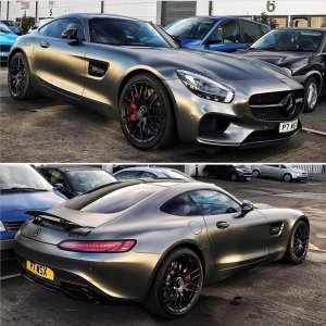 AMG GTS Spotted in Tehran