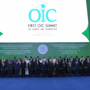 leaders from 53 OIC member states and international organizations participated in the evtn.