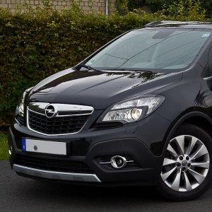 Sapra Motor is currently showcasing Opel's Mokka in Tehran.