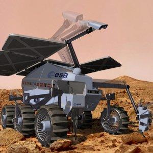 ESA Mars Rover Undergoing Final Tests
