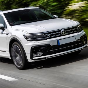 Tiguan is VW's smallest SUV.
