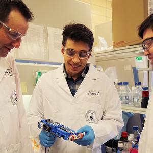 Bioprinter Applied to Deep Skin Wound Repair