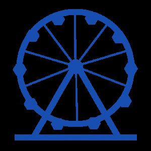 Amusement Rides Shut Down