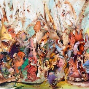 Banisadr's  Painting Tops  Sotheby's Dubai