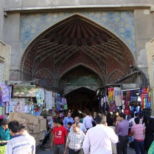 Tehran Grand Bazaar  Restoration Gathers PaceThe oldest remaining buildings, walls and passages in the bazaar today rarely exceed 400 years, with many being constructed or rebuilt in the last 200 years.