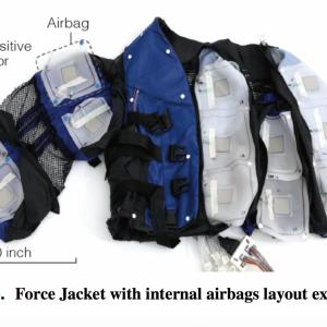Disney's Force Jacket Simulates Feeling of Punches, Hugs