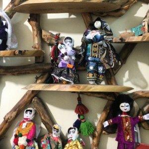 Ethnic dolls in an earlier exhibit (File Photo)