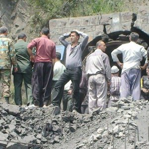 Some of the injured were miners who had gone into the mine to try to save their colleagues.
