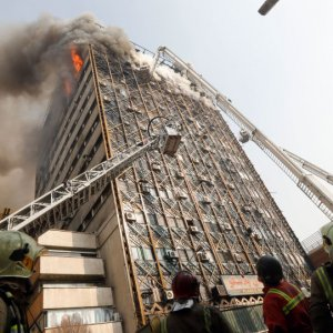 The low budget allocated to the Firefighting Department is said to be one of the reasons behind the Plasco Building collapse
