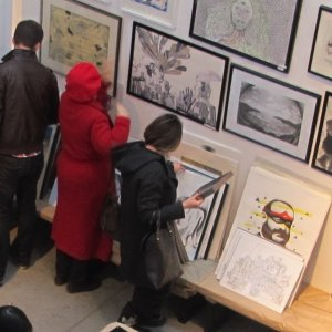 Art Sale Drawing to a Close