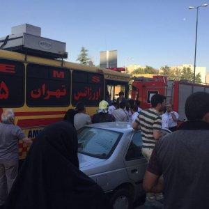 48 Hurt in Tehran Metro Crash