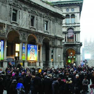[The venue of the Sport Movies & TV Festival held in Milan, Italy