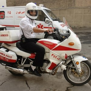 EMS Gets 200 Motorcycle Ambulances