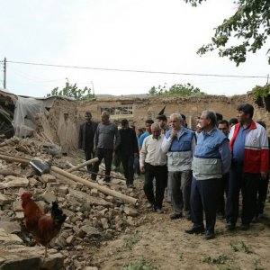On May 13, a 5.7-magnitude earthquake damaged  many houses in the area.