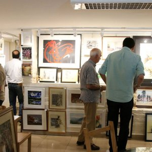 Exhibition of '100 Works, 100 Artists' Opens