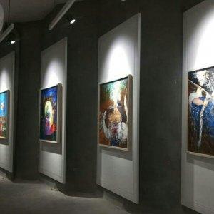 Influence of Sadeq Hedayat on Sajjadi's Paintings
