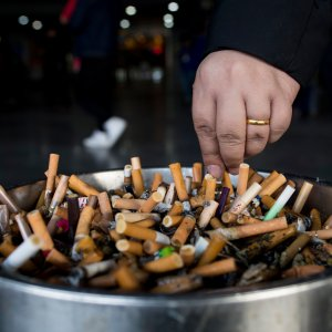 Cigarette smoking is linked to approximately 1.6 million deaths worldwide every year.