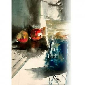 Water Color Painting Exhibition at Mojdeh Gallery