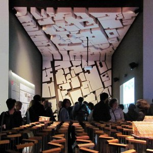 Iran national pavilion at the 15th Venice Architecture Biennale, designed by Behzad Atabaki