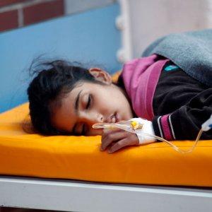 Yemen Cholera Cases Cross 100,000