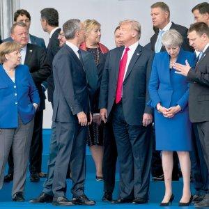 Trump Turmoil Hangs Over TenseNATO Summit