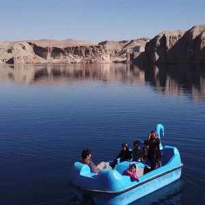 Band-e-Amir in Bamiyan Province is one of the most extraordinary sites of natural beauty anywhere in the world.