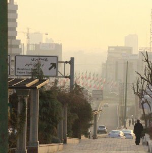 Around 62% of Alborz's air pollution come from mobile sources.