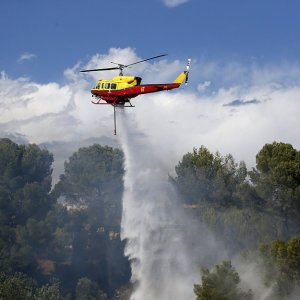 Fires Erupt in Southern France
