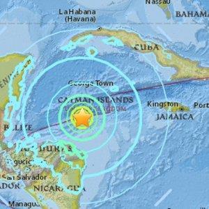 7.6 Quake Hits Caribbean Sea