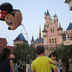 HK Disneyland Reports Loss
