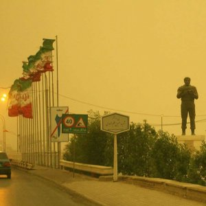 Most dust storm emissions plaguing Khuzestan Province come from manmade sources.