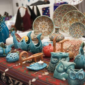 Production of handicrafts is in a favorable state but more needs to be done on marketing.