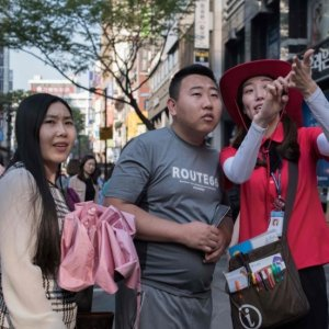 Chinese tourism to South Korea has dropped by two-thirds.