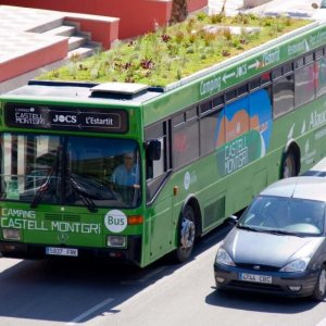 "Madrid Plans ""Garden Bus"""