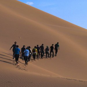 Biggest Campsite Planned Near Maranjab Desert