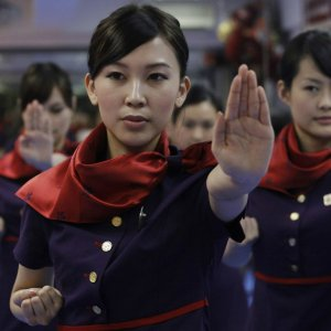 Russian Airline Teaching Martial Arts to Attendants