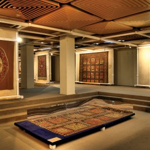The Carpet Museum of Iran was officially launched in 1977.