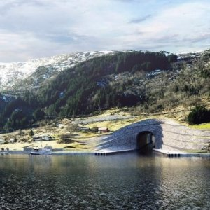 Norway Plans 1st Ship Tunnel